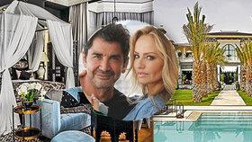 Život na vysoké noze krásné Sklenaříkové: Vybudovala luxusní palác v Marrákeši!