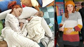 Strach Míši Maurerové o dceru (9 měsíců): Lékaři odhalili zákeřný reflux!