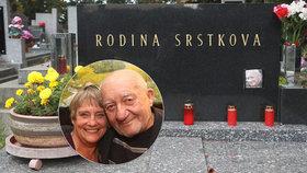 Vdova po Srstkovi (†83) denně truchlí! Zdeněk by měl narozeniny