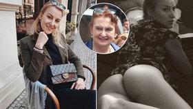 Hříšná dcera Evy Holubové: Slova o sexu, orgasmu a vyšpulený zadek!