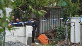 Hrůzný nález v Říčanech: V potoce leželo tělo mrtvého muže