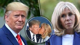 "Macronová (66) ""potykala"" Trumpovi. A prozradila, co je spojilo"