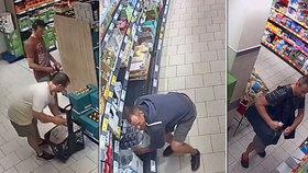 Na supermarket v Praze si počíhali zloději: Muži v něm kradli ve stejný čas, vzájemně o sobě nevěděli