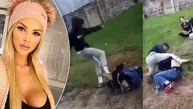 Českou Barbie šokoval útok na kluka v Sedlčanech: Dětská zrůda, nazvala agresora