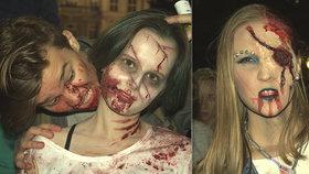 Zombie Walk Brno: Spousta krve, slizu, a mrtvolně bílých obličejů!