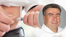 Cukrovka zkracuje život o 12 let! Moderní léky se k pacientům dostávají pomalu, přiznává lékař