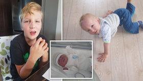 Peklo jménem autismus: Daneček (9) si v záchvatech přerazil nos, agrese trvá hodiny!