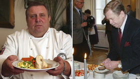 Takhle se jedlo za Havla (†75)! Sapík uvaří menu, které ochutnala i anglická královna