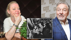 Zdrcená Dominika Gottová: Co mi po smrti táty řekla Ivana!