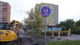 Rekonstrukce ulice v Michli: Práce potrvají až do konce příštích letních prázdnin