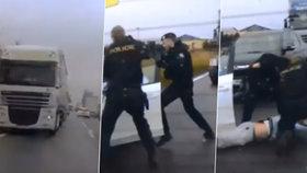Zběsilá honička na Královéhradecku: Policisté zadrželi auto kradené v Rakousku