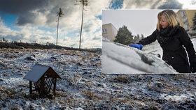 V Česku chladněji než v Moskvě: Nejmrazivější noc týdne nás ale čeká, na horách až -10°C