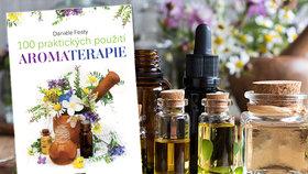 Recenze: 100 praktických použití aromaterapie odhaluje léčivou sílu esenciálních olejů
