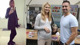 Plekancova láska Šafářová má v těhotenství problém: Chtěla ven, zradilo ji bříško!