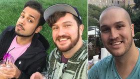 Učitel angličtiny Jackson se v Praze léčí z rakoviny: Doma jsem přišel o kamarády, prozradil