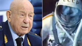 Zemřel první kosmonaut, který vystoupil do vesmíru. Leonov (†85) podlehl těžké nemoci