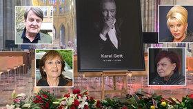 Na pohřbu Gotta chyběli: Proč nepřišel Štaidl, Matušková nebo Trumpová?!