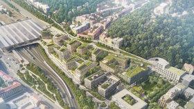 Praha 5 vystaví poslední verzi Smíchov City: Občanům ukáže jižní část projektu