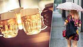 Češi kvůli špatnému počasí nepili tolik piva. Pivovary ho vyrobily v létě méně