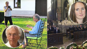 Při mši za Gotta (†80) zasahovala ochranka! Špátová poslala točit manžela mezi hosty v katedrále