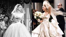 Ikonické svatební šaty z filmů: Které nás oslnily?