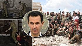 Katalog 72 mučících technik: Vězni u Asada zakusili vypichování očí i ukřižování