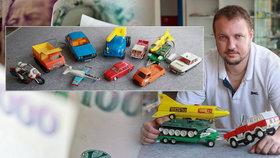 Staré hračky stojí tisíce. Expert: Hitem u sběratelů jsou autíčka na kabel