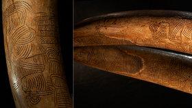 Nejstarší mapa na světě! Do mamutího klu ji možná vyřezával autor Věstonické venuše
