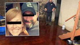 Děsivé překvapení: Sklep rodinného domu zaplavila krev, protekla údajně ze sousedních mrazíren masa