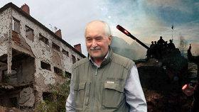 Hlaveň u spánku, mrtví kamarádi: Josef Skalka (65) válčil v Jugoslávii, teď slouží u městské policie