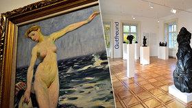 Dva velikáni světového umění na jedné scéně: Museum Kampa vábí na tvorbu Františka Kupky a Otto Gutfreunda