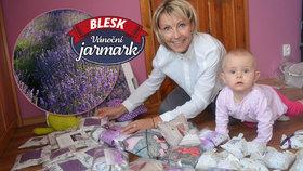Olga (48) se vzdala práce manažerky, štěstí jí přinesla levandule! Její tvorba provoní Jarmark Blesku