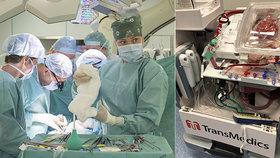 IKEM je největší transplantační centrum Evropy: Loni tam nemocným voperovali 540 orgánů