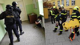 Do školy v Opavě vtrhl terorista se samopalem: Děti dostaly amok!