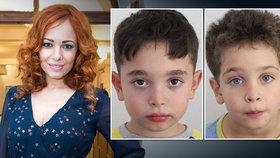 Děti (5 a 8 let) slovenské moderátorky jsou nezvěstné! Policie bije na poplach
