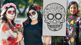 Mexické oslavy mrtvých vPraze: Na Smíchově postaví oltář a truchlit se rozhodně nebude
