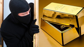Postel v Třeboni skrývala zlatý poklad: Majitel do ní ukryl zlaté cihly!