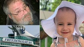 Dědečkovi vypadlo batole z 11. patra zaoceánské lodi: Obvinili ho ze zabití!