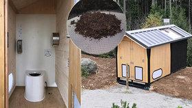 Exkrementy lyžařů zblajznou na Špičáku žížaly: Ekozáchody nepotřebují žádnou údržbu