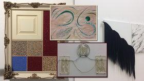 Vlasaté obrazy i smetí povýšené na umění: Nová galerie vystavuje tak trochu »jiné malby«