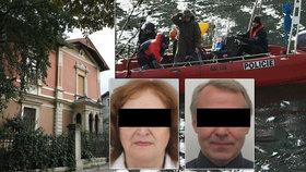 Našli těla pohřešovaných kvůli vile v Bubenči?! Zásah na Želivce, nedaleko je viděli naposled živé