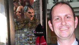 Prodejna s maskou Hitlera: Praha 1 vypověděla nájemní smlouvu