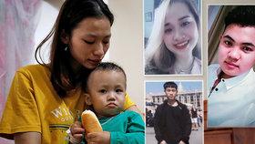Tváře mrtvých migrantů? Rodiny pláčou pro oběti z kamionu smrti, policie zatýká