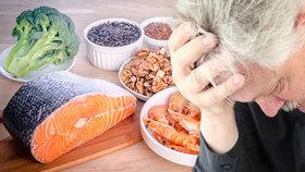 Antidepresiva a psychoterapie snižují depresi jen o polovinu: Zkuste zdravě jíst