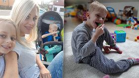 Maxík (7) trpí nemocí, kterou má v Česku jen 6 dětí! Je vepsaná i do tváře