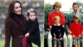 Vyčítali to Dianě (†36), teď je tím štve i Kate! Krásná vévodkyně má ale ve výchově jasno
