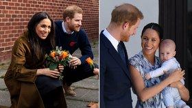 Harry a Meghan odhalili detaily o Archiem! Co ukrývá v puse