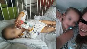 Malému Kryštůfkovi šlo o život, pomohli mu záchranáři z Příbrami! Maminka jim dojemně poděkovala