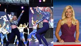 Takhle Lucii Borhyovou ze zpráv neznáte: Stala se z ní sexy disco žínka!