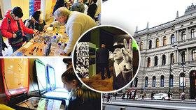 Týden vědy a techniky v Praze: Videomapping, vzpomínka na Sametovou revoluci i upozornění na globální hrozby